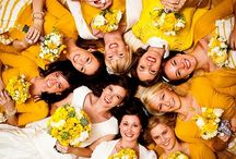 Bridesmaids Board / Start pinning ideas for bridesmaid dresses, hair styles, shoes, and other stuff (bachelorette ideas, crafty decorations). Colors can be any of the following: royal blue or mustard yellow. :-) <3  Long distance won't stop us! <3 / by Gabriela Argentina