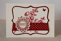 Elements Of Style Cards SU / by Patricia Lemont