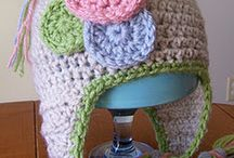 Crocheted Hats / by Cher Colby