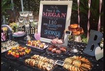 Bride Events / Bridal showers, bachelorette party, engagement party, etc. / by Tiana Purcell