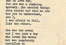 Words / by Brooke Schwab