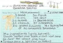 recipes / by Elizabeth M.