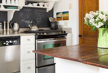 Small Kitchen fixes / Ideas for small kitchen spaces / by Anna BLUECHURCH