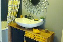salle de bains / by Lisa VETAULT