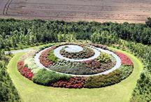 spiral garden inspiration / by Meg Hicks