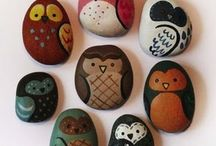 """Lucky Stones"" Crafts / by Linda Kingston-Parulis"