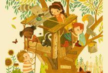 Children's illustrations / Illustrations for children / by Mayke Mars