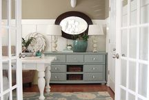 Office Spaces / by Cortney Jenkins { Faith. Home. Love.}