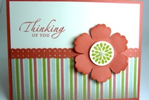 Card Making -Thing of You- / by Angela Schingeck