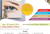 Glued IOL Conference -2013 / Dr. Agarwal's Eye Hospital  Presents  'Glued' IOL Conference -Bhubaneswar / by Dr-Agarwal's Eye Hospital