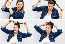 Hair tutorials / by Mackenzie Ervin
