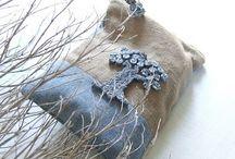 Cojines - Pillow (denim) / by vitoma