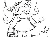 Coloring / Coloring Pages / by Virginia Hale