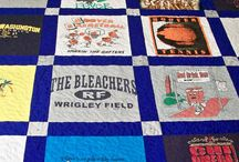 t shirt quilts / by Joanna Sharghi-Shirley