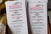 Wedding coordinating / by Mary Dunlop