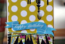 cards - birthday / by scrappymo!