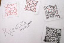 Art Zentangle K / by Sharon Salu