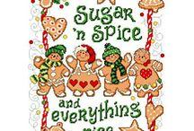 Christmas Cross Stitch / by Linda Diedrich