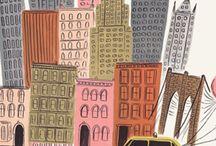 NYC / by April Heather Davulcu  /  April Heather Art