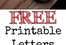 Printables!! / by Lindsey Carvel