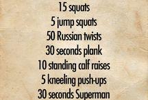 Fitness / by Katie Maritato