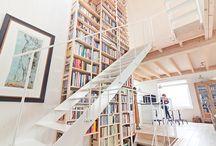 Bookshelves / Bookshelves, bookcases and books from all over the world / by Hans Monasso