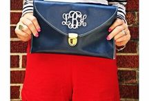 """Monogram Me! / """"My rule is: if it's not moving, monogram it! -Reese Witherspoon""""  / by Aimee Hicks"""