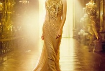 Gold Rush / Evening wear, shoes and make-up in shades of Gold / by Liz Mitchell
