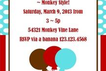 Monkey Party Ideas / by BellaGrey Designs
