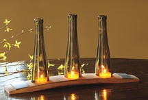 Wine Bottle Projects / by Terry Mulligan