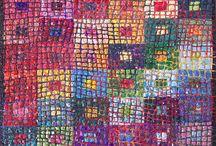 Ideas For My Pebble Mosaic Paisley on Paisley / by Kathi Urango