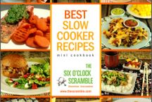 Slow Cooker Recipes / Easy and healthy slow cooker recipes to make dinnertime even easier for busy parents!  / by Aviva Goldfarb