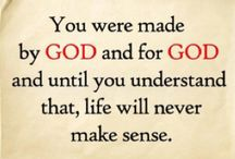 Words to Live By / Scripture & Encouraging Words / by Dena Abney