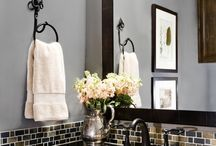 downstairs bathroom redo / by Tracey Rabbitt