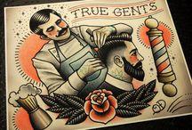 Vintage tattoo inspiration / by Ida Bromée Mellberg