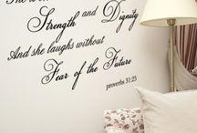 Future prayer corner/nook / by Kristen