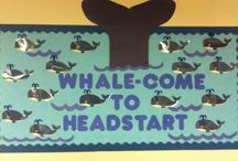 bulletin board &pre school ideas / by Veronica Lacey