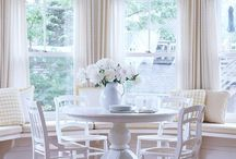 home: breakfast nook / Beautiful breakfast nooks  / by Coordinately Yours by Julie Blanner