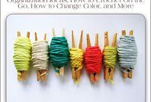 Knitting and crochet / by Caroline Higgins