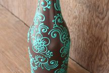 Bottle arts & crafts / by Theresa Muench