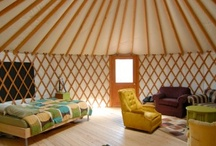 Tiny home / yurt, tiny homes, ideas for building / by Sarah Brewer