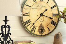 clocks / by Rachel Nystrand