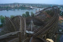 roller coasters I want to ride / by Jennifer Nemeth