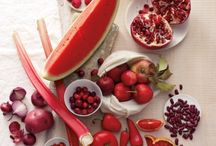 Fresh / Fruit and veggie colorful deliciousness / by Lindsay Emery
