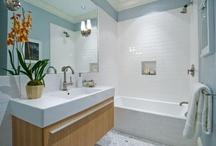 bathroom redo ideas / by Rena Tom