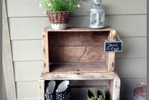 Front porch ideas / by Sherry Pickle
