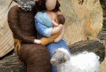 cribs/presepe / by Lydia Valletta