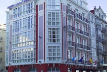 abba Santander Hotel*** - Hotel in Santander / 37 Rooms. Modern and contemporary decor, Cosy ambience. Located in a priveleged place in the historical and business centre of Santander. Facing the bay, 100 metres from the Main Train and Bus Stations and the Harbour (Ferry). / by Abba Hoteles