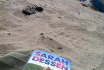 The Moon and More: reader pictures! / It's the summer of 2013, and I'm collecting reader pics of where THEY are reading THE MOON AND MORE.  / by sarahdessen