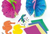 Sealife / No need to head to the beach for these super sealife craft ideas! / by Baker Ross
